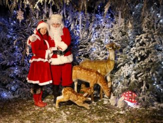 Santa at Hever Castle