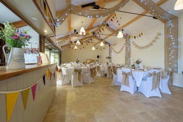 Tapnell hall interior set for reception