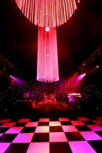 Willington hall dance floor set up