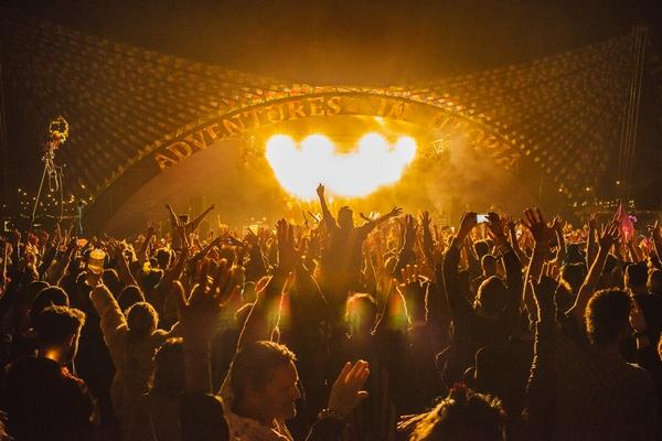 Crowd at Shambala Festival 2019