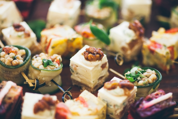 Spread of event food