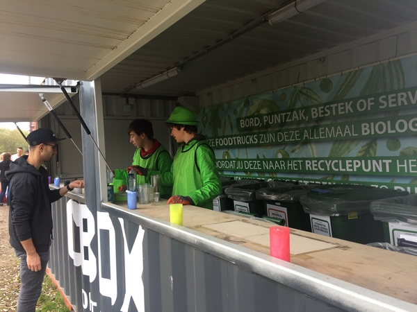CBOX festival catering
