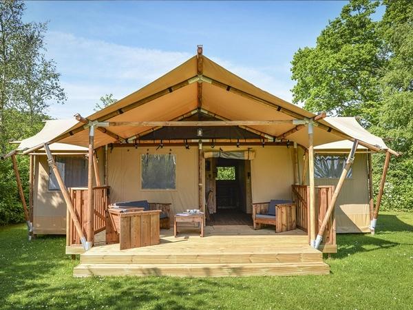 Clear Sky safari glamping tent