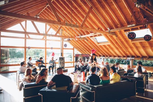 Conference event in field of dreams venue