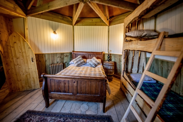 Bedroom in the North Shire barn