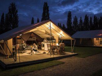 Sherwood pines glamping tent