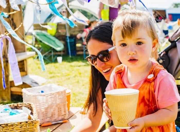 Child at Shambala Festival 2019