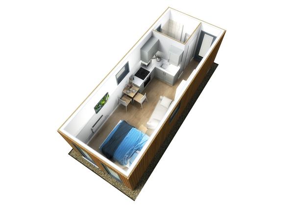 VRC Modular SleepNeat hotel room