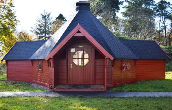 Auchengillian Outdoor Centre Logspan hut