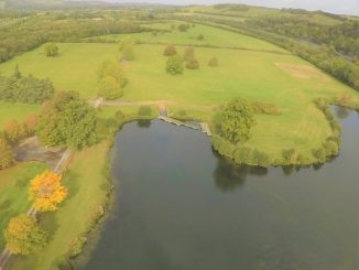 Aerial view of Beale Wildlife Park