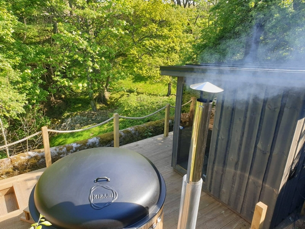 Clove Cottage wood-fired sauna