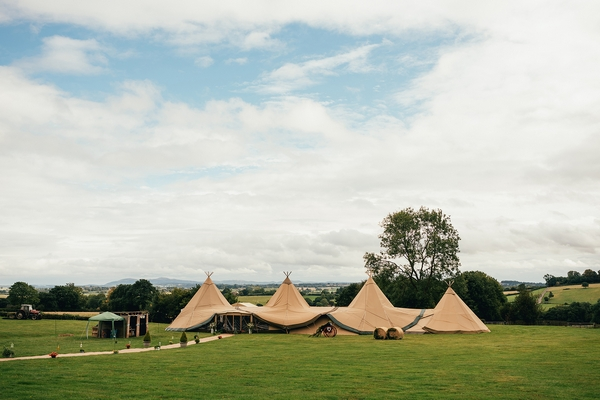 'Event In A Tent' stretch tent in the UK