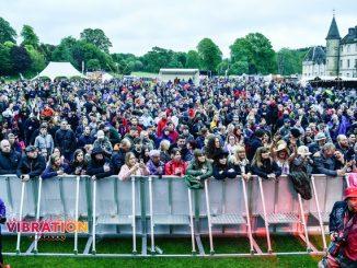 Crowd at Falkirk festival