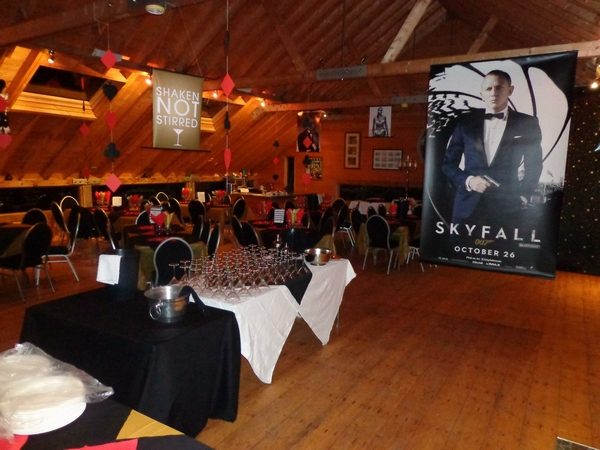 Skyfall event at Field of Dreams