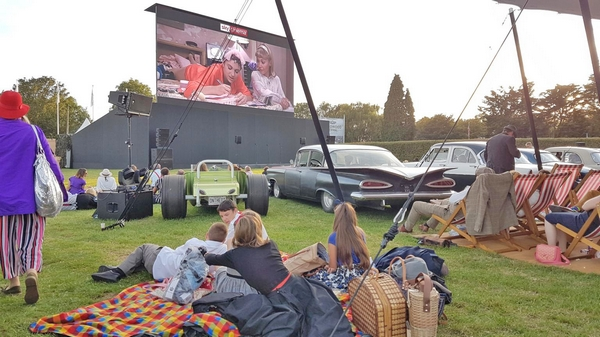 Goodwood estate cinema event