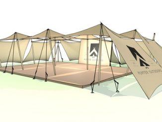 Hunter's Outdoors' Shady Spot design plan
