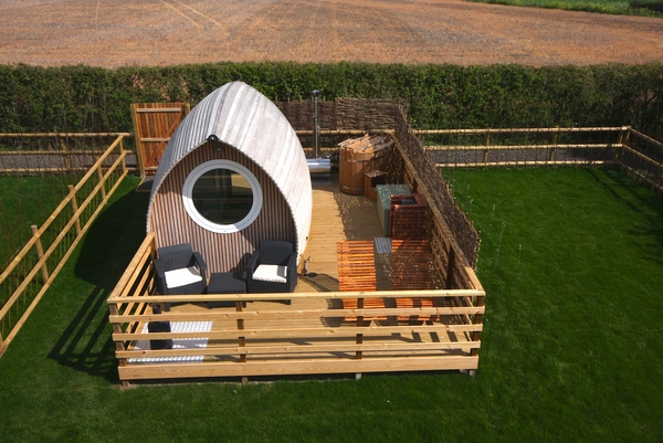 Lee Wick Farm glamping pod