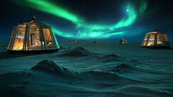 Glamping opportunity in the North Pole