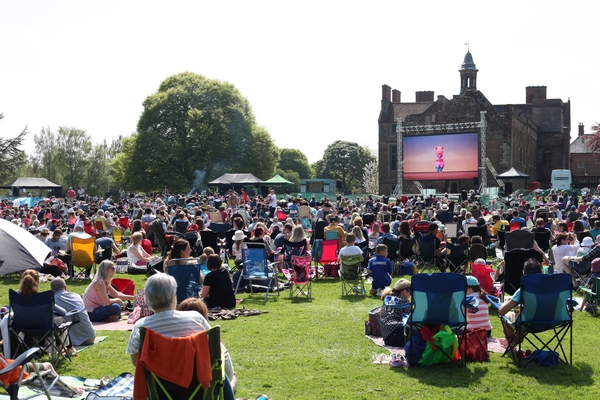 Rufford Abbey cinema event