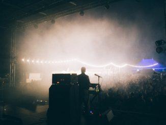 DJ at festival event