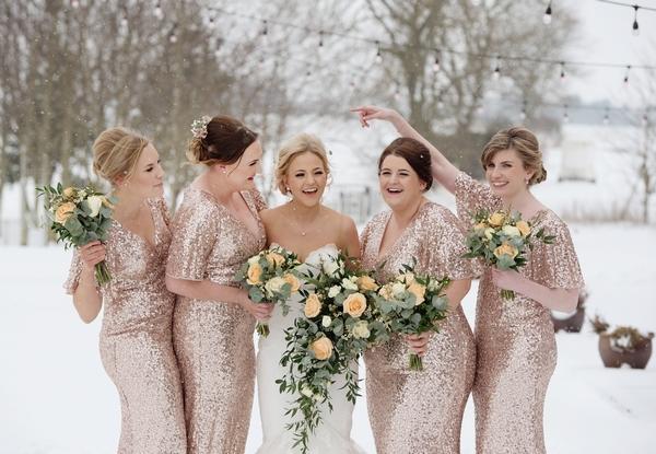 Vallum Farm bridesmaids