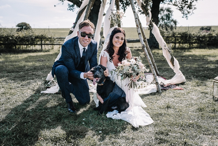 Married couple at Alcott Farm