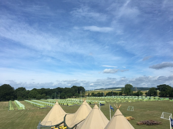 Bell tents for glamping