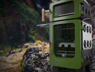 The EKOL ApplePie safe stove