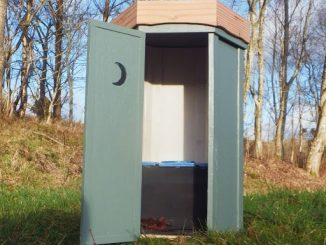 Temple to Nature composting toilet
