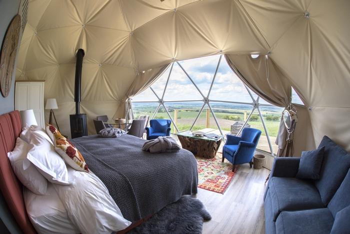 Dome interior at The Private Hill