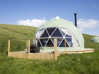 The Private Hill dome accommodation