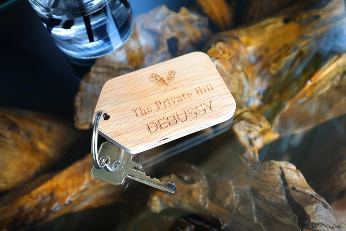 Keys to the Private Hill accommodation
