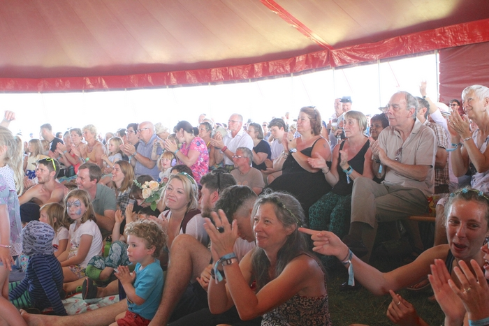 Towersey Festival crowd