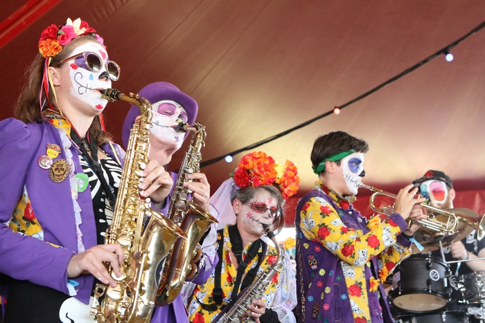 Jazz performance at Towersey Festival