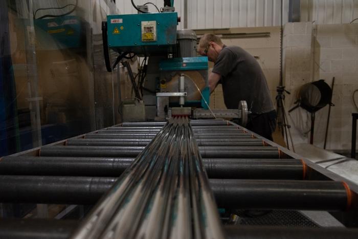 Manufacturing a TruDomes dome