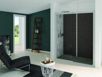 Kocoon fully installed shower