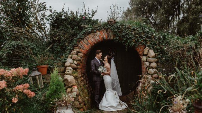 Skipbridge wedding couple