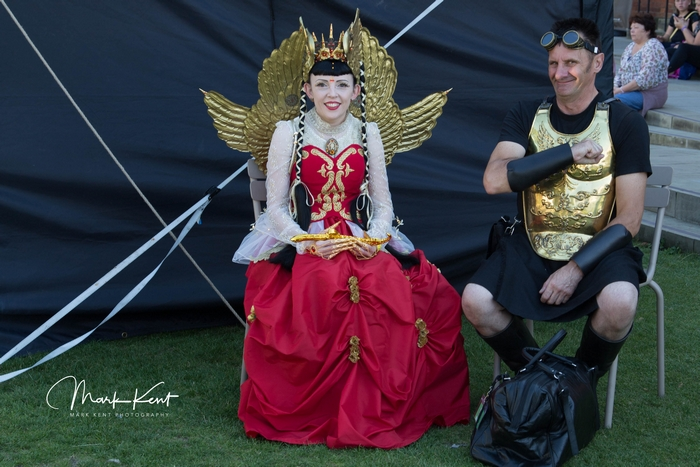 The Asylum festival : woman dressed up
