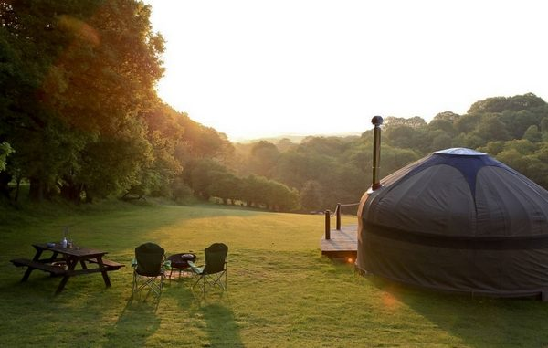 glamping holidays on rise