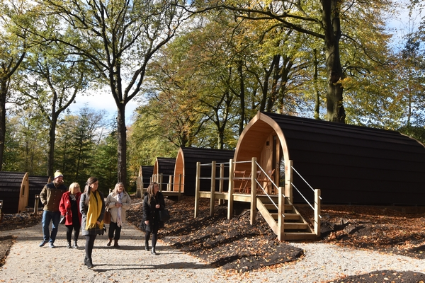 Browsholme Hall glamping pods