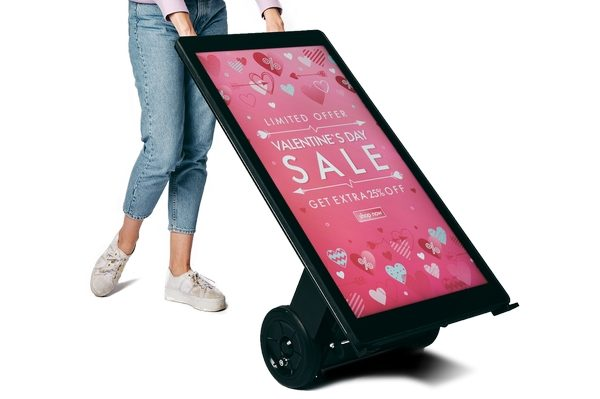 Battery Operated digital signs
