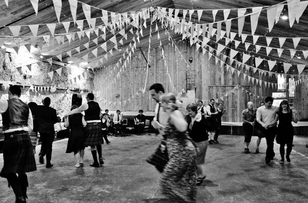 Comrie Croft couples dance
