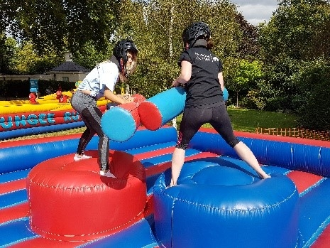 Leisure Hire inflatable equipment