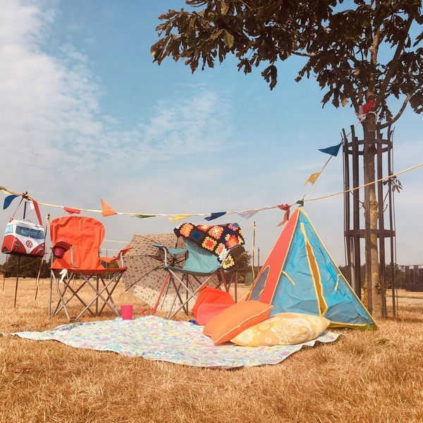 Wild Paths tent