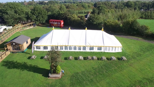 Heart of England marquee
