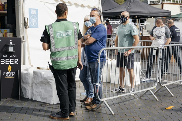 Security at Bristol Festival