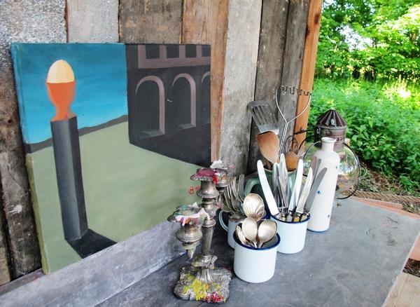 Outdoor kitchen utensils