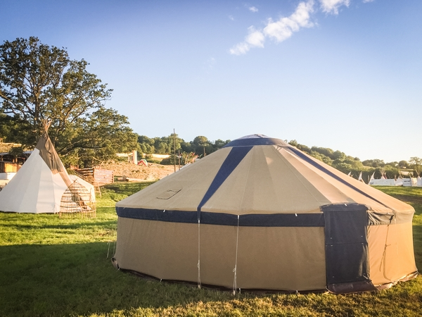 Socially distant tent