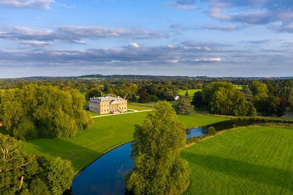 Broadlands aerial shot