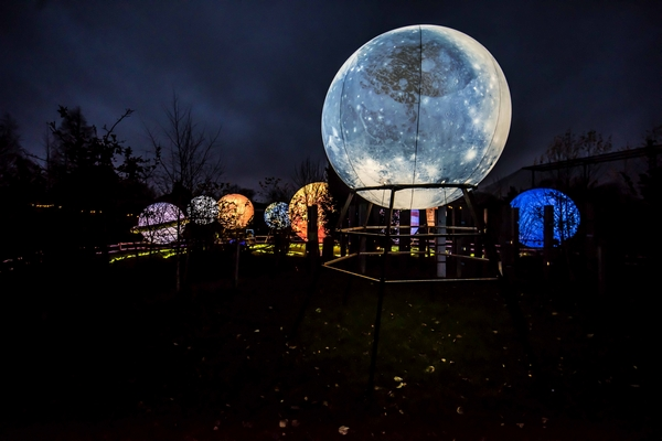 Chester zoo moon and planets